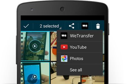 WeTransfer - A must-have for large file transfers from your mobile.