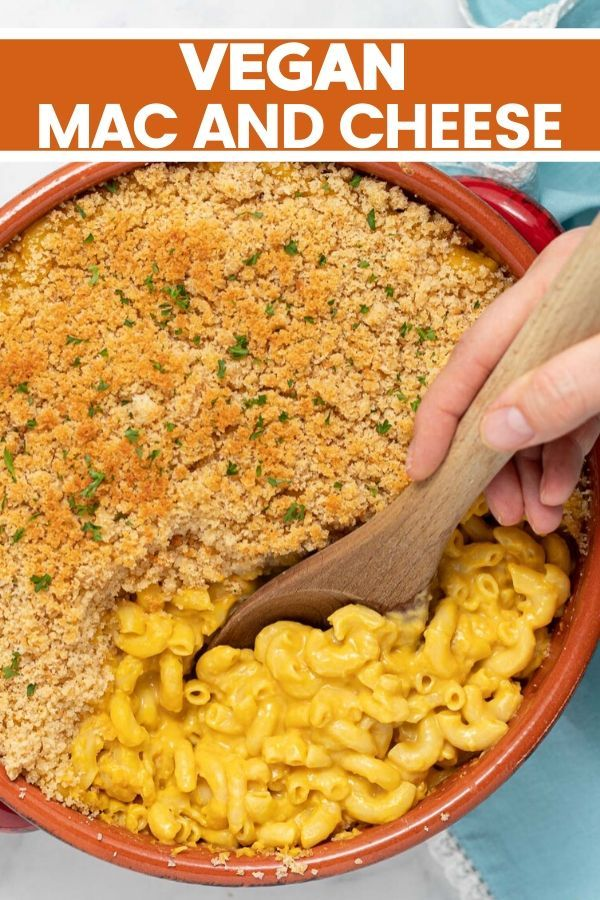 Baked Vegan Mac And Cheese Nut Free A Virtual Vegan In 2020 Vegan Mac And Cheese Mac And Cheese Vegan Dinner Recipes