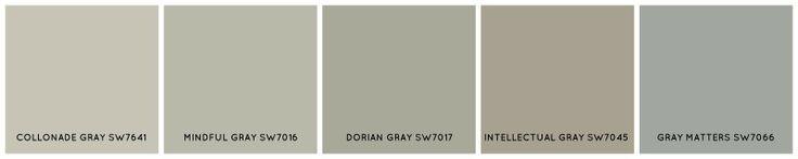 Sherwin Williams SW7641 - Collonade Gray - Google Search