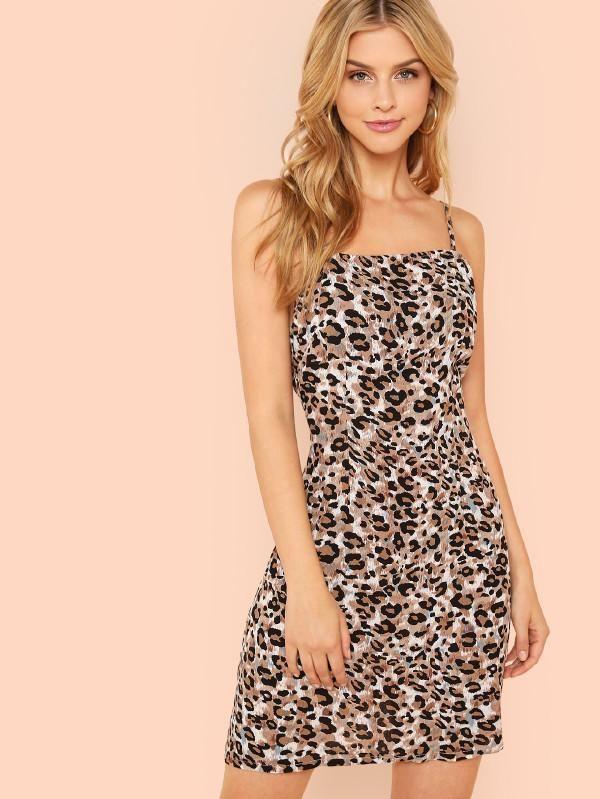 e86597197ae8 Leopard Print Cami Dress | Trend Selected | Pinterest | Dresses ...