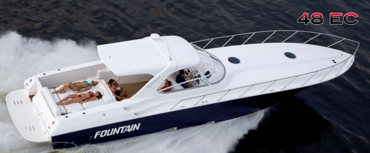 New 2012 Fountain Boats 48 Express Cruiser Express Fisherman Boat