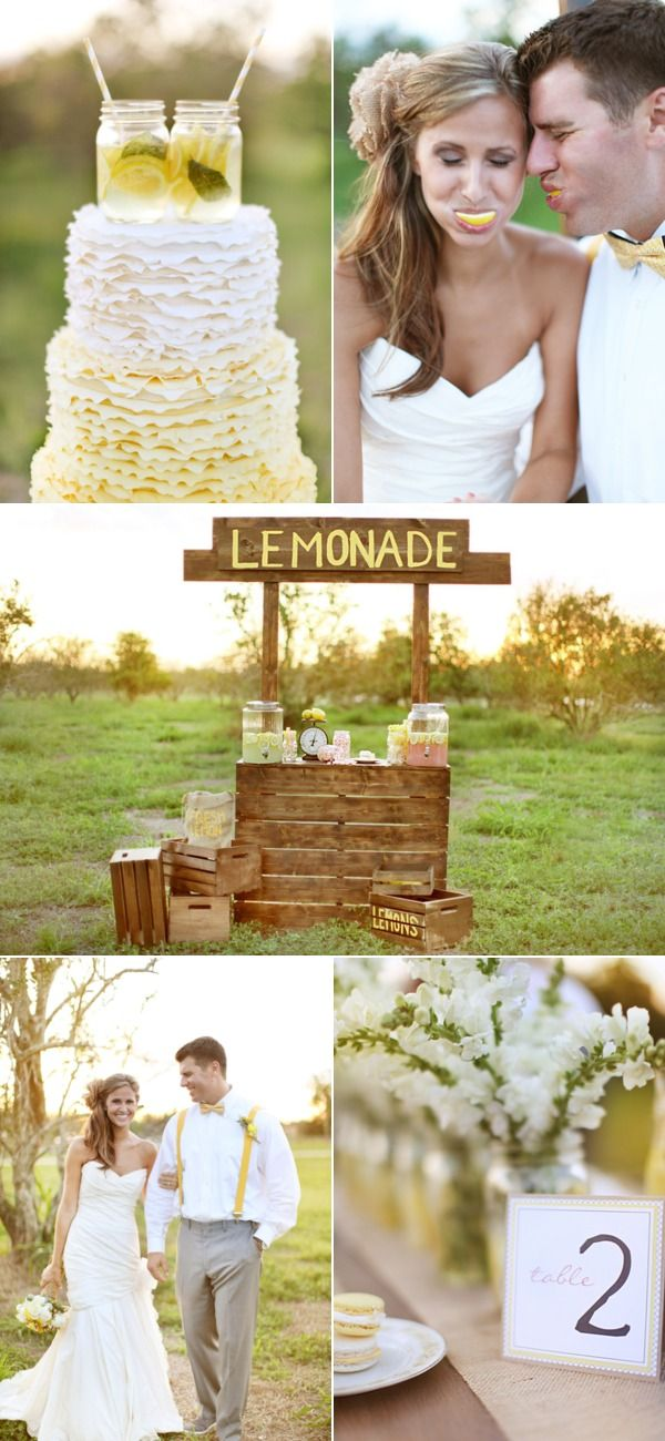 Orlando Lemonade Wedding Inspiration from Wings of Glory Photography + Dogwood Blossom Stationery
