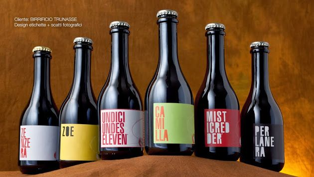 Picture and labeling for Birrificio Trunasse_