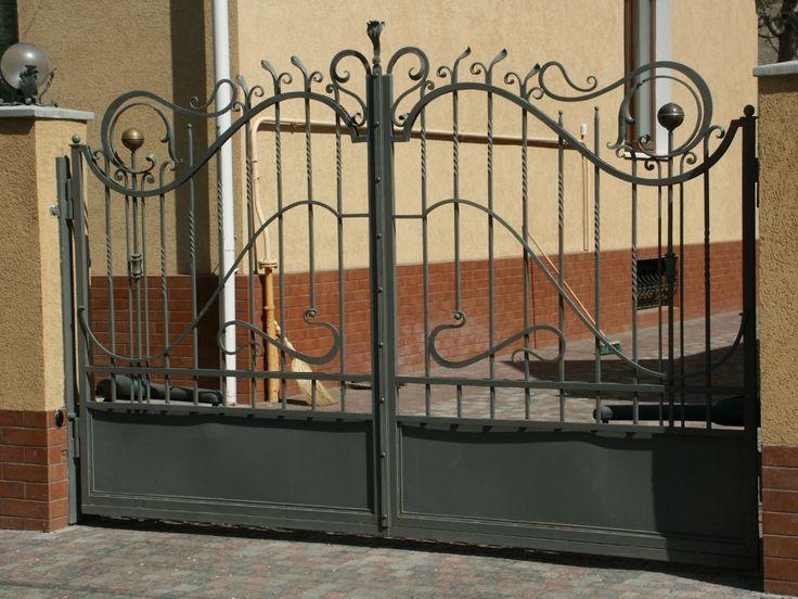 кованые ворота   Кованые металлические заборы и ворота ...