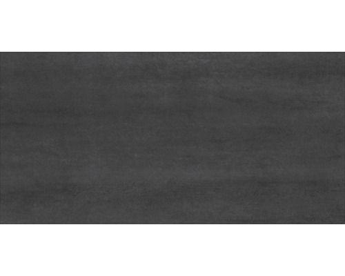 Feinsteinzeug Bodenfliese Bremen anthrazit durchgefärbt rektifiziert 30x59,5 cm