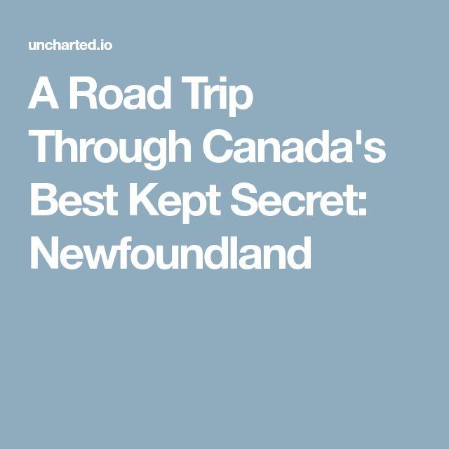A Road Trip Through Canada's Best Kept Secret: Newfoundland