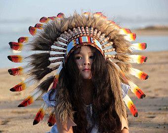 Penacho indio infantil, penacho indio, penacho de plumas infantil, penacho de plumas, indio, nativo americano, penacho, plumas, disfraz