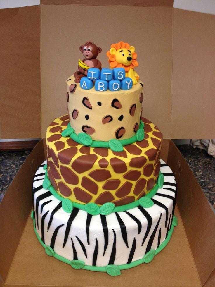baby shower cake more animals baby shower cakes baby shower ideas cake