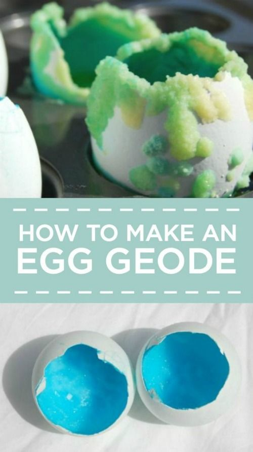 How to Make Egg Geodes plus Borax Uses for Kids | 15 Easy Borax Recipes on Frugal Coupon Living. Science experiments for kids.