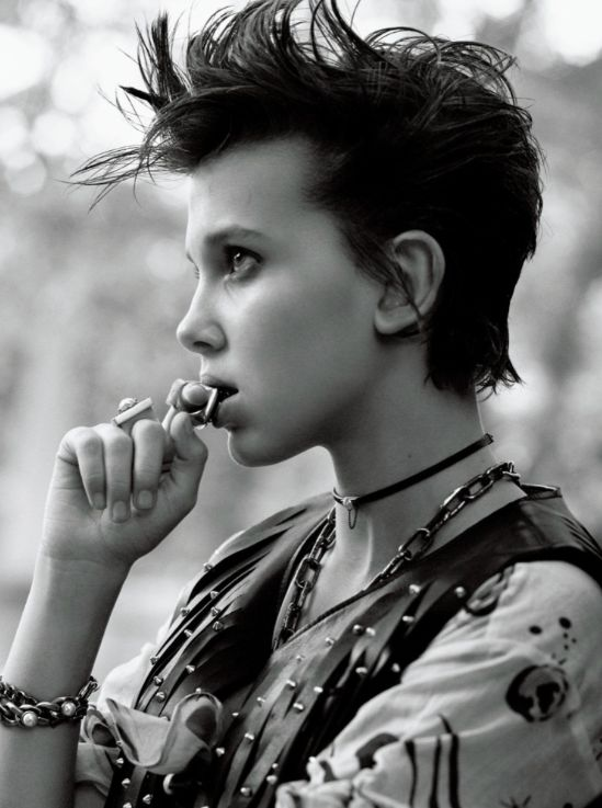 Millie Bobby Brown Lands Her First Cover, Prompting Controversy With Her Look