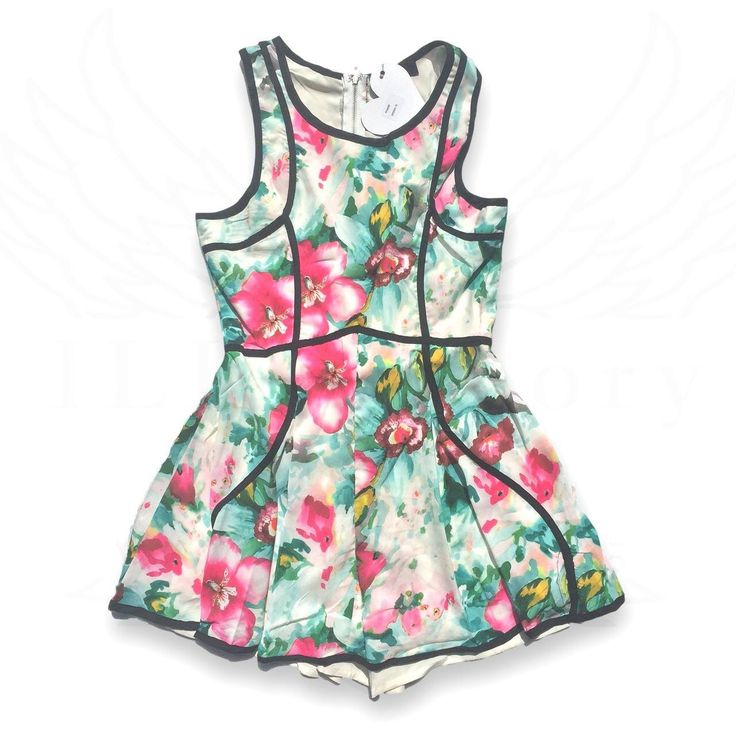 Playsuit heaven. Is it a dress?  Is it a playsuit? Wait. What? It's both!  Available from us now x