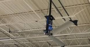 #HighVolumeLowSpeed fans are more comfort to save your energy for your commercial building.