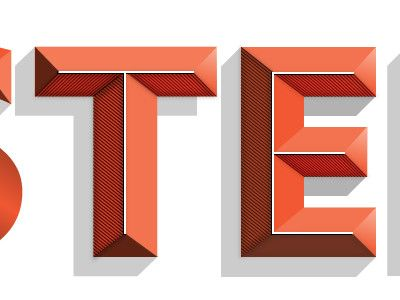 lettering: Design Inspiration, Types Letters, Nice Types, Art Inspiration, Types Design, Beautiful Typography, Blocks Types, Aesthetics Design, 3D Typography