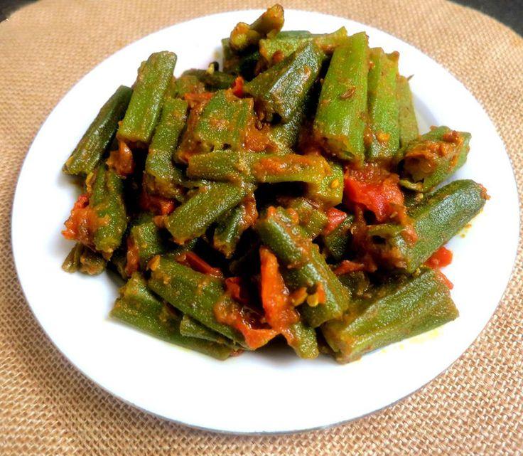 Bhindi Masala - Spicy Okra #BhindiMasala #SpicyOkra