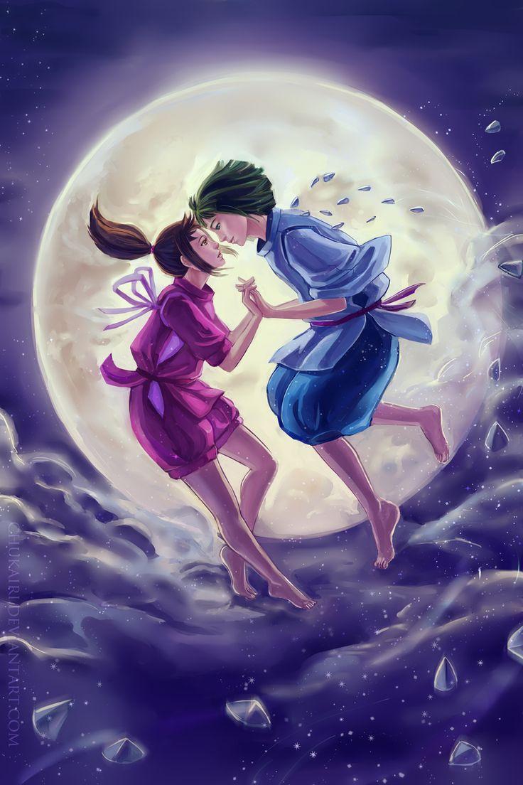 """Spirited Away fan art - """"Reuinte"""" by Chukairi on deviantART"""