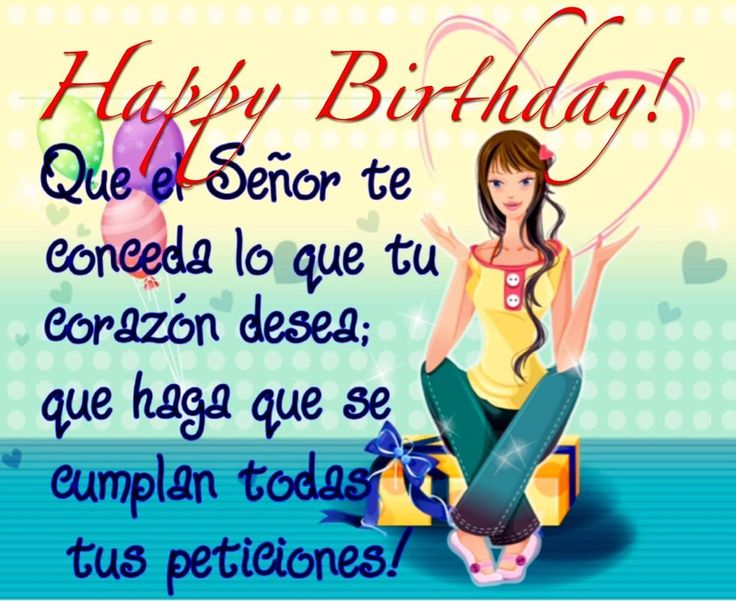 28 best happy bday images on pinterest happy brithday happy birthday cards birthday wishes spanish happy birthday birthday party ideas birthday parties birthday quotes gift cards spanish quotes m4hsunfo