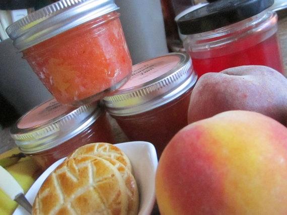 #Peach Banana Jam by sweetpeaspantry on Etsy, $4.00 Available @rideaupinesfarm