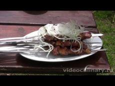 Шашлык из куриных окорочков - Рецепт Бабушки Эммы