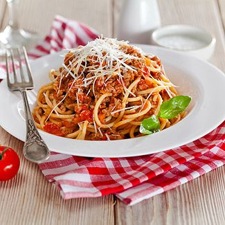 Спагетти «Болоньезе» в мультиварке