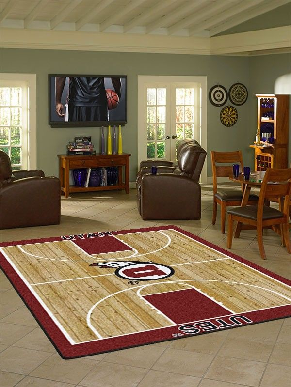 22 Best Ncaa College Basketball Area Rugs Images On