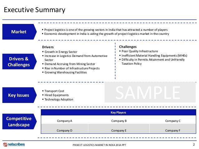 Supply Chain Visibility in Business Networks - 11 MAR 2014 - executive summary templates