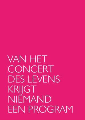 Concert des levens - Spreukenkaarten - Kaartje2go