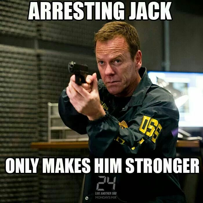 Jack Bauer Funny Quotes: 17 Best Images About Jack Bauer Vs Chuck Norris On