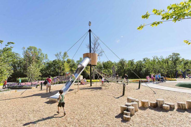 PlayWorks: Assiniboine Park Nature Playground in Winnipeg! | Natural  playground, Playground, Winnipeg