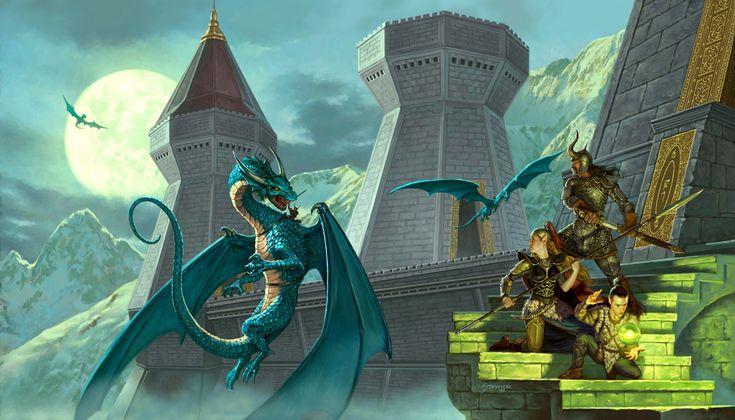 Dragonlance - Dragons of Winter Night by StawickiArt on deviantART
