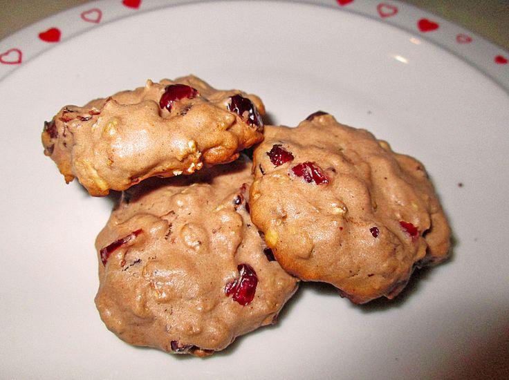 Cranberry-Hafer-Cookies, ein tolles Rezept aus der Kategorie Backen. Bewertungen: 2. Durchschnitt: Ø 3,3.