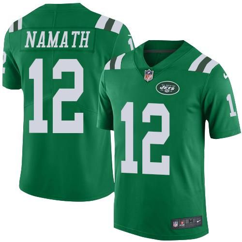 68863eac5 Joe Gilliam - Pittsburgh Steelers - QB Nike Jets 12 Joe Namath Green Youth  Stitched NFL Elite Rush Jersey ...