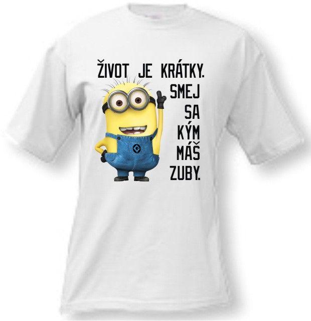 Mimoňové tričko