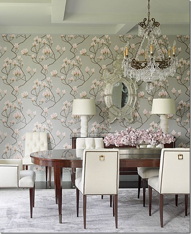 84 best dining rooms images on pinterest wallpaper dining rooms cole and sons magnolia wallpaper design by katie stassi scott sxxofo