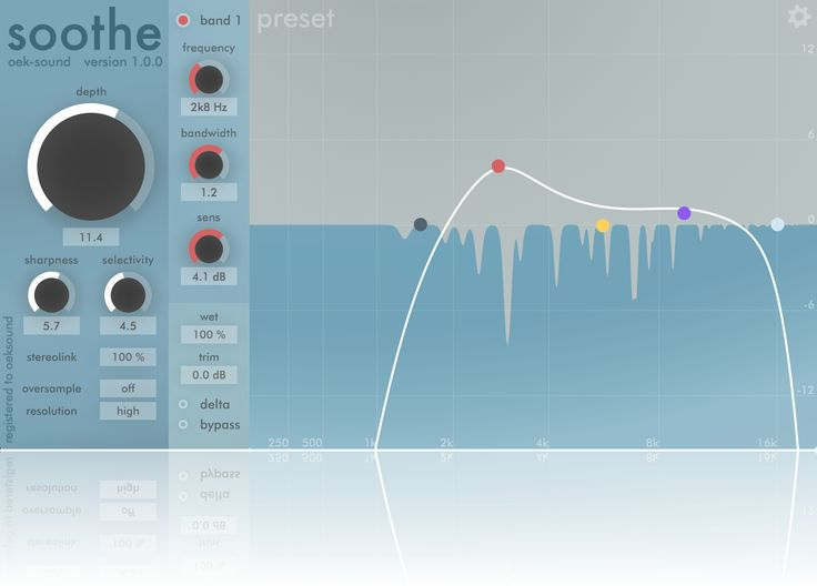 Soothe Soothe Plugins Audio