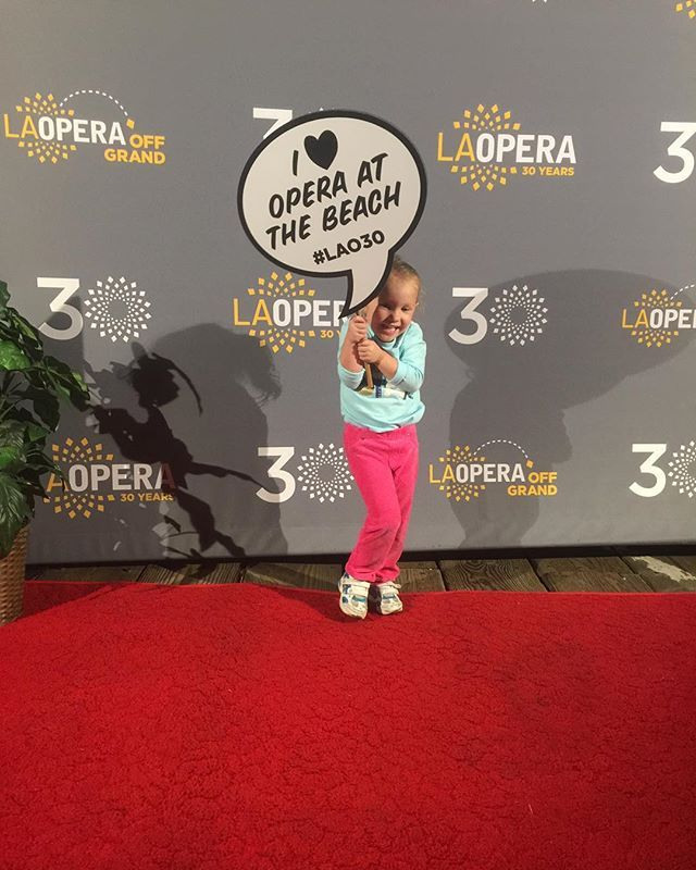 We love that she loves Opera at the Beach! #OperaAtTheBeach #SantaMonica #LAO30