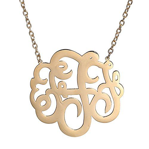letter a gold 17 best images about monogram jewelry on 6068