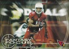 2014 Topps Fantasy Focus #FF-LF Larry Fitzgerald, Arizona Cardinals