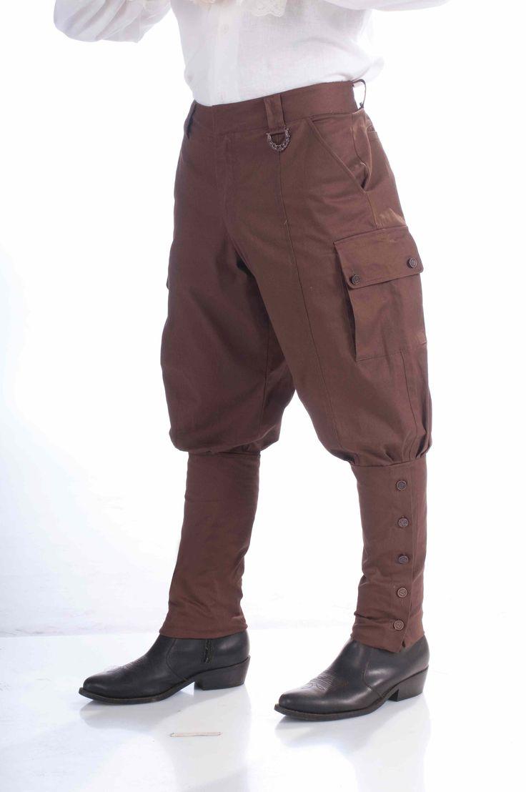 Steampunk Men Pants