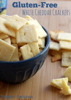 The best gluten-free Cheez-it Copycat recipe around! They are crispy, crunchy, and have a great sharp white cheddar taste. #glutenfree #copycat
