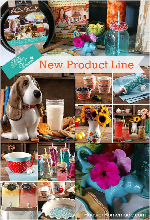 The ever popular Pioneer Woman has a new line of products! From dinner ware, to cooking utensils, to serving dishes and much more! Come check them out!