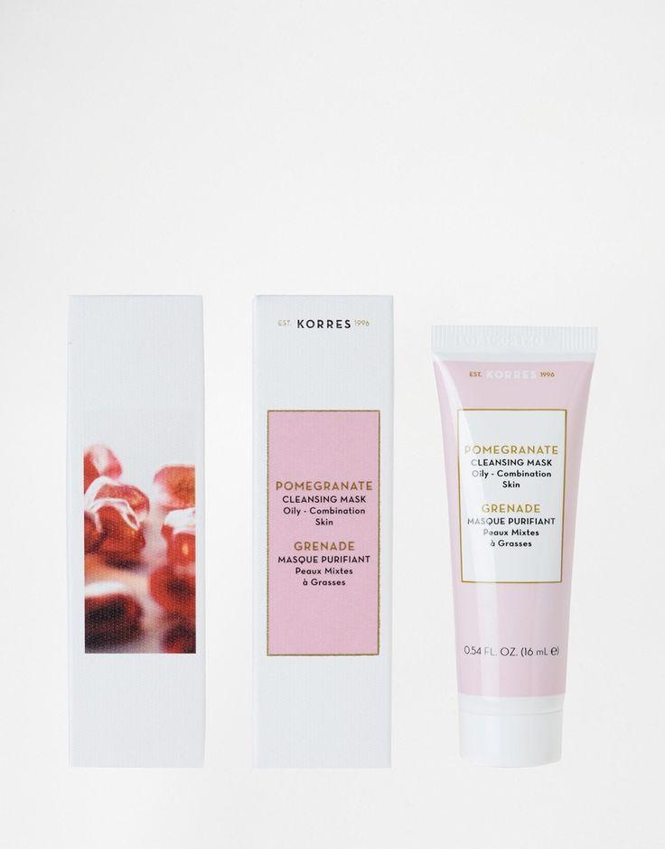 Image 1 ofKorres Pomegranate Cleansing Mask 16ml