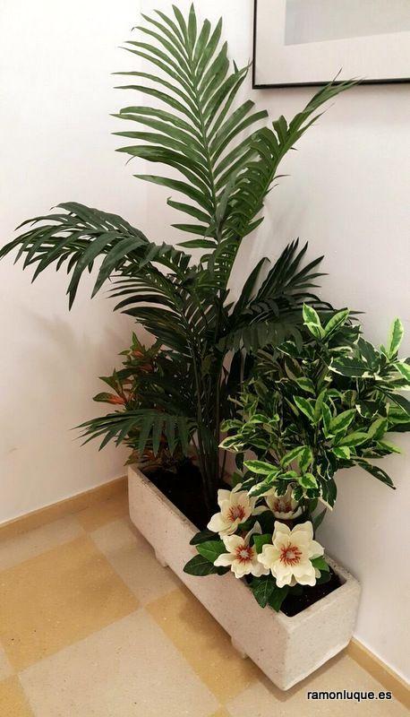 Arreglos naturales y artificiales para decoraci n de for Plantas artificiales para interiores