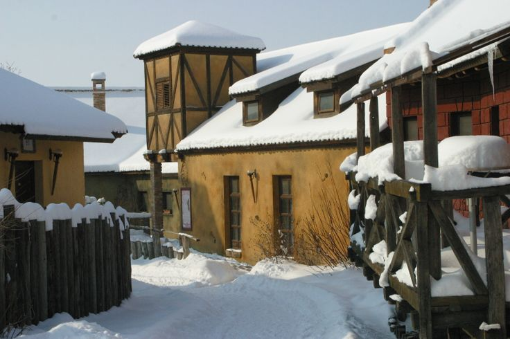 Old Town winter