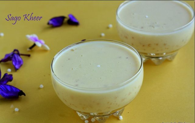SAGO KHEER  7 Yummy Ugadi(Telugu New Year) recipes. Ugadi(Telugu New Year) recipes are based on food that is made on the day of Telugu New Year. These food are made on that day and served to god.