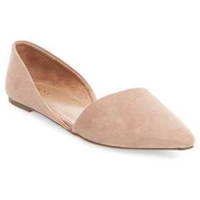 Women's Poppy d'Orsay Flat Pointed Toe Ballet Flats - Merona™ : Target