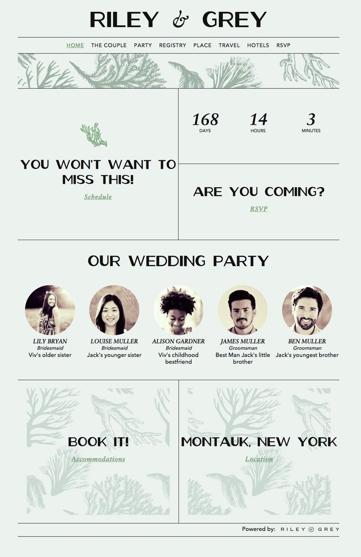 17 Best 1000 images about Wedding Website Design Ideas Templates on