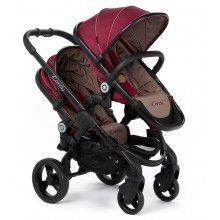 Peach Blossom Claret..Twin #BabyStroller
