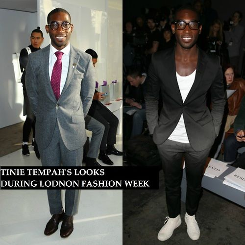 Tinie Tempah in Jonathan Saunders and Richard James Suits During... - Tinie Tempah - Zimbio