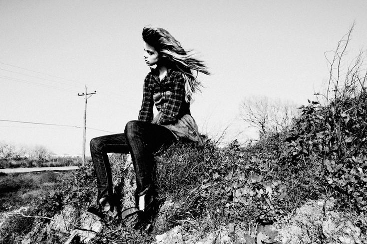 Washed Out Memories bring me back to you while reality keeps me away. Kendall Walters Foreman Mgmt. Photographer: Megan Tipps Stylist: Angelique Gioldasis