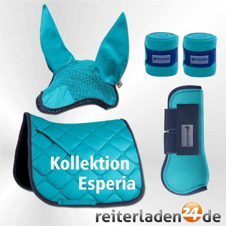 von #Waldhausen Horse Fashion in azur #horsefashion #pferd #reiten #horsebackriding